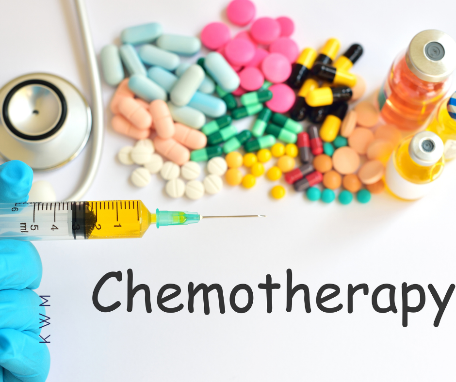 Chemotherapy has many forms.